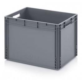 Eurobox stapelbak 60x40x42 grijs